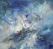Dans ses tempêtes de couleurs, parcourues de vents... (Fournie par la galerie Michel Guimont) - image 7.0