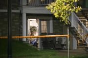 Les deux personnes retrouvées mortes samedi habitaient dans... (Olivier Croteau) - image 1.0
