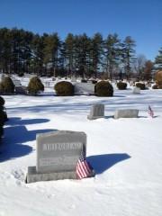 La pierre tombale des Thibodeau dans un cimetière... (Photo Marc Thibodeau, La Presse) - image 2.0