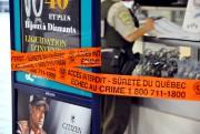 Les policiers du poste de Drummond enquêtent sur... (Photo collaboration spéciale Éric Beaupré) - image 2.0