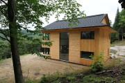 En construisant leur maison à Mont-Tremblant, Luc Bombardier... (PHOTO FOURNIE PAR LUC BOMBARDIER) - image 3.0