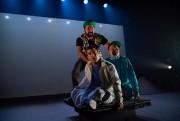 Mani Soleymanlou (à l'arrière),Olivier Kemeid etGeoffrey Gaquère ont... (PhotoDavid Ospina, fournie par la production) - image 2.0