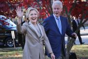 Hillary Diane Rodham a rencontré son mari, Bill... (Photo AP, Seth Wenig) - image 2.0
