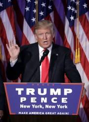 Après la confirmation de sa victoire, Donald Trump... (AP,  John Locher) - image 4.0