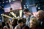 Au Javits Center, où les partisans d'Hillary Clinton... (Photo Carlos Barria, Reuters) - image 1.0