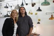 Les cofondateurs de l'atelier Tungstène,Jani Thibault et Pierre... (Photo Alain Dion, La Voix de l'Est) - image 2.0