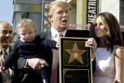 Donald Trump et sa famille en 2007 lors... (Archives AP) - image 5.0