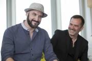 L'écrivain Martin Michaud et le réalisateur Patrice Sauvé... (La Presse, Ivanoh Demers) - image 2.0