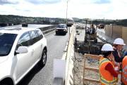 Apercçu du chantier sur le pont Dubuc.... (Archives Le Quotidien, Mariane L. St-Gelais) - image 2.0