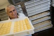 Giancarlo Sacchetto, propriétaire duPastificio Sacchetto, au marché Jean-Talon.... (Photo Ivanoh Demers, La Presse) - image 2.0