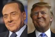 Silvio Berlusconi et Donald ont de nombreuses similitudes.... (AFP) - image 2.0