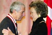 Leonard Cohen reçoit son titre de Chevalier de... (Archives La Presse canadienne) - image 4.0