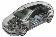 Mercedes-Benz Classe B au gaz naturel. Image: Mercedes-Benz... - image 5.0