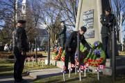 D'anciens combattants ont rendu hommage aux soldats disparus... (Olivier Croteau) - image 1.0