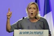 La chef de l'extrême droite française, Marine Le... (AP, Claude Paris) - image 7.0