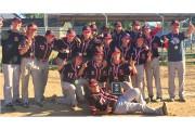 L'équipe des Aigles bantam AA de la Mauricie... (Courtoisie) - image 1.0