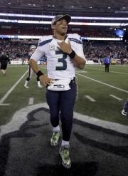 Le quart-arrière des Seahawks de Seattle, Russell Wilson... (AP, Steven Senne) - image 3.0
