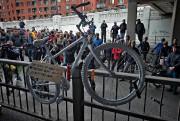 Un vélo blanc a été déposé à l'endroit... (Photo Patrick Sanfaçon, Archives La Presse) - image 1.0