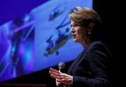 Marillyn Hewson, grande patronne du géant américain Lockheed... (PhotoKim Kyung-Hoon, Reuters) - image 1.0