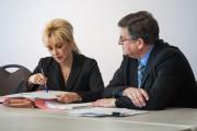 Alain Fournier et son avocate, MeCaroline Gagnon, ont... (Olivier Croteau, Le Nouvelliste) - image 1.0