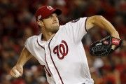 Max Scherzer a dominé la Nationale pour les... (Associated Press) - image 2.0