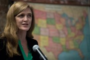 Samantha Power, ambassadrice des États-Unis à l'ONU... (PHOTO MARY ALTAFFER, ASSOCIATED PRESS) - image 1.1