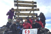 En compagnie de 12 autres participants, le Granbyen... (photo fournie par Mathieu Grenier) - image 1.0