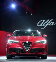 L'Alfa Romeo Stelvio. Photo: AFP... - image 3.1