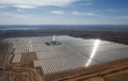 La centrale solaire Nour, à Ouarzazate, au Maroc.... - image 2.0