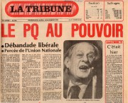 Le 15 novembre 1976, René Lévesque a sorti... - image 1.0