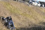Un motocycliste d'une soixantaine d'années a été gravement... (Photo Le Progrès-Dimanche, Michel Tremblay) - image 3.0