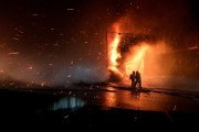 Les pompiers d'Alma ont été dépêchés sur la... (Le Progrès-Dimanche, Gimmy Desbiens) - image 2.0