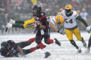 Le Rouge et Noir a défait les Eskimos... (La Presse canadienne) - image 1.0