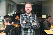Le co-fondateur et président de Snowed In Studios,... (Patrick Woodbury, Le Droit) - image 5.0