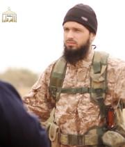 Abdelilah Himich dans une vidéo de propagande de... (AFP) - image 2.0