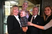 La grande Debbie Savoy-Morel, son petit-fils Brendan et... (Claude Loranger) - image 1.0