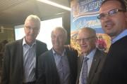 Denis Morel, content de revoir ses amis André... (Claude Loranger) - image 1.1