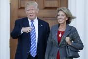 Le président désigné Donald Trump avait reçu, le... (photo Carolyn Kaster, AP) - image 2.0