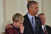 Ellen DeGeneres a été émue de l'hommage que... (AFP, Nicholas Kamm) - image 5.0