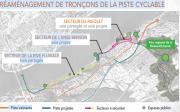 Plan d'aménagement du PPU Saint-Romuald... (Image fournie par la Ville de Lévis) - image 1.0