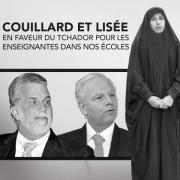Une campagne de la Coalition avenir Québec (CAQ)... (PHOTOMONTAGE TIRÉ DE TWITTER) - image 1.0