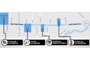 Seul l'aménagement de quatre places est proposé comme... (illustration fournie par la Ville de Granby) - image 2.0