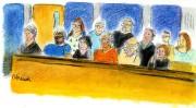 Les douze jurés seront de retour mardi.... (Illustration Le Quotidien, Christiane Cardinal) - image 2.0