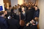 Près de 80 personnes étaient à l'intérieur, alors... (Photo Le Quotidien, Rocket Lavoie) - image 4.0