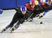 Avec des départs à six, voire huit patineurs... (Photo Le Quotidien, Rocket Lavoie) - image 3.0