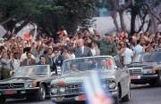 Mikhaïl Gorbachev et Fidel Castro en 1989 lors... (AFP) - image 2.0