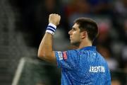 Federico Delbonis a défaitIvo Karlovic dans le match... (PHOTO MARKO DJURICA, REUTERS) - image 1.0