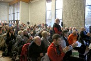 Plusieurs citoyens de Bromont ont démontré leur joie... (Julie Catudal) - image 1.0