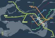 Le REM s'arrêtera entre autres aux stations Édouard-Montpetit... (INFOGRAPHIE FOURNIE PAR LA CAISSE DE DÉPÔT ET PLACEMENT DU QUÉBEC) - image 1.0