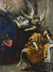 Le Songe de saint Joseph (artiste inconnu), entre... (Gouvernement du Canada, Institut canadien de conservation) - image 2.0
